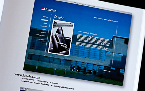 Jobelsa-Web design Index 8